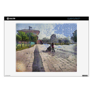 """Baby out for a stroll 14"""" laptop skin"""