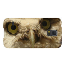 Baby Owl Bird Galaxy Case