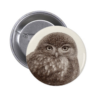 Baby Owl Buttons