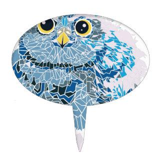Baby owl cake topper