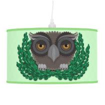 Baby Owl hanging pendant lamp