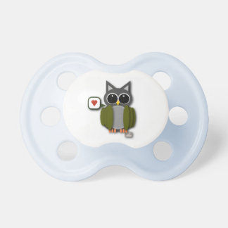 Baby Owl Love Pacifier
