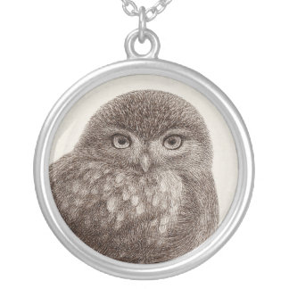 Baby Owl Necklaces