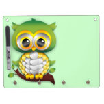 Baby Owl Paper Craft Design Dry-Erase Board