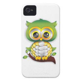 Baby Owl Paper Craft iPhone 4/4S Case