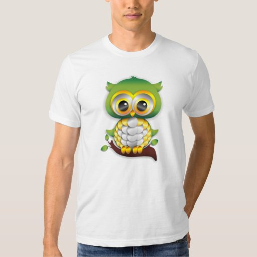 Baby Owl Paper Craft T-Shirt