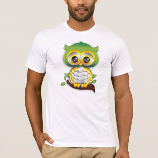 Baby Owl Paper Craft T-Shirt