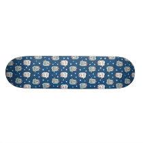 Baby Owl Pattern 🦉🦉 Skateboard
