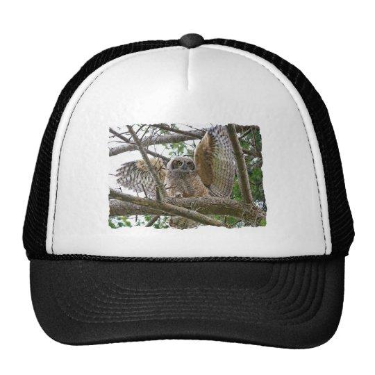 Baby Owl Picture Trucker Hat