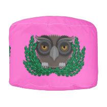 Baby Owl pouf