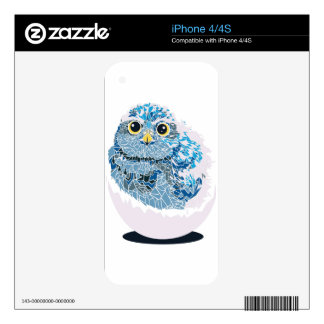 Baby owl skins for the iPhone 4S