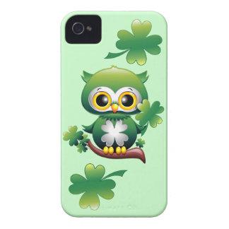 Baby Owl St Patrick Cartoon iPhone 4/4S Case