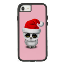 Baby Owl Wearing a Santa Hat Case-Mate Tough Extreme iPhone 8/7 Case