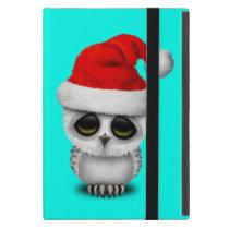 Baby Owl Wearing a Santa Hat iPad Mini Case