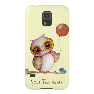 Baby Owl with Balloon Samsung Galaxy S5 Case