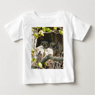 Baby Owls Baby T-Shirt