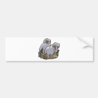 Baby Owls Bumper Stickers