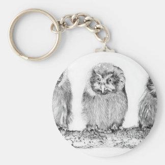 Baby_Owls Keychain