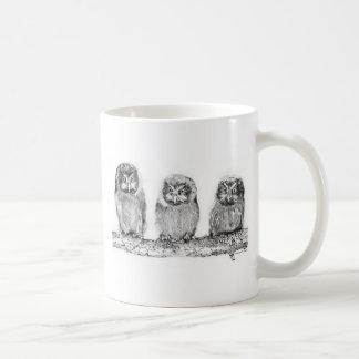 Baby_Owls Taza Clásica