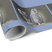 Baby Owls Wrapping Paper