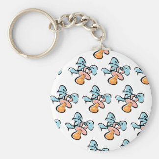 Baby Pacifier Keychains