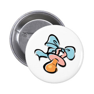 Baby Pacifier Pinback Button