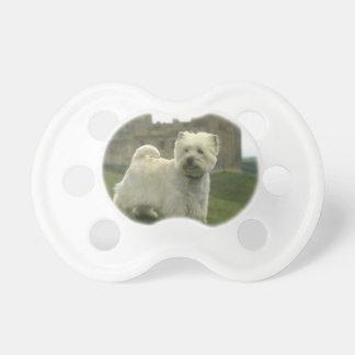 Baby Pacifier Westie West Highland Terrier