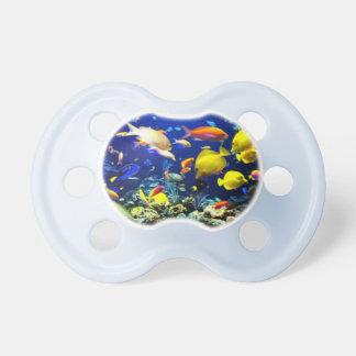 Baby Pacifier witrh aquarium scene