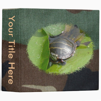 Baby Painted Turtle Binder