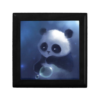 Baby Panda Bear Trinket Boxes