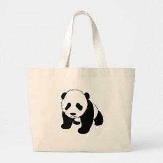 Baby Panda Canvas Bags