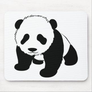 Baby Panda cub crawling towards you Mouse Pad