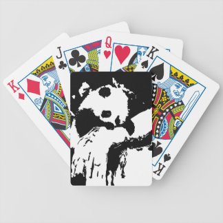 Baby Panda Hugs A Tree Bicycle Playing Cards