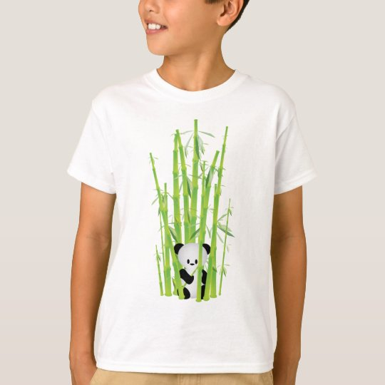Baby Panda in Bamboo Forest T-Shirt