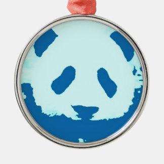 Baby Panda Metal Ornament