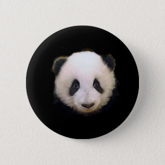 Baby Panda Pinback Button