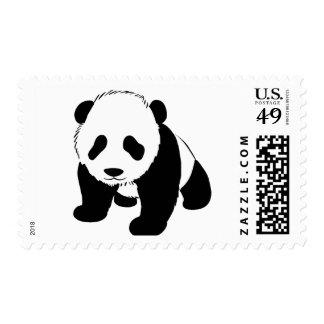 Baby Panda Stamps