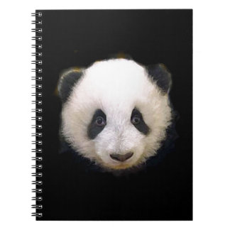 Baby Panda Spiral Notebook