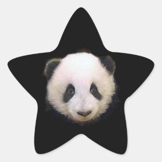 Baby Panda Star Sticker