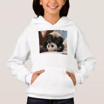 Baby pandas playing - baby panda  cute panda hoodie