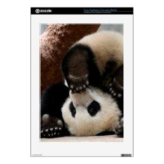 Baby pandas playing - baby panda  cute panda skin for the PS3 console