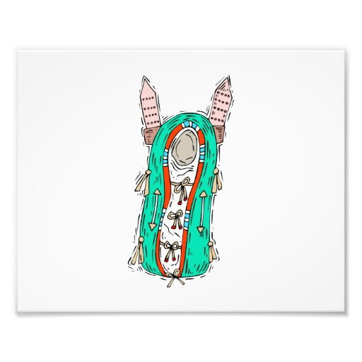 Baby papoose graphic.png photographic print