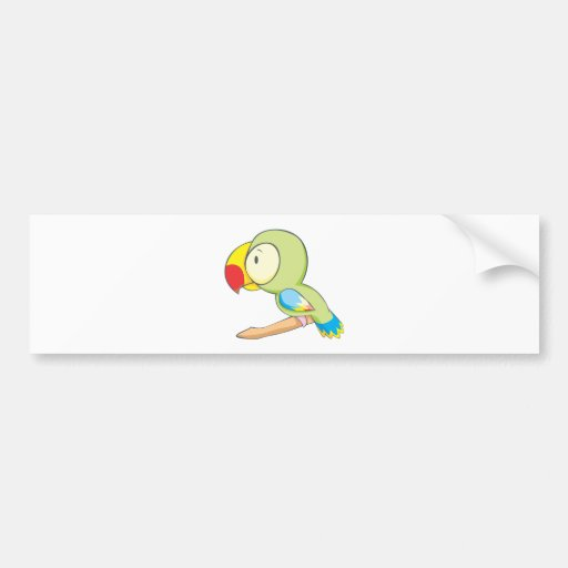 Baby Parrot Bumper Stickers
