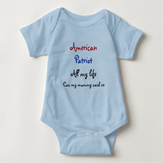 Baby Patriot Baby Bodysuit