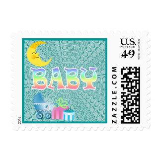 Baby Pattern Series Postage
