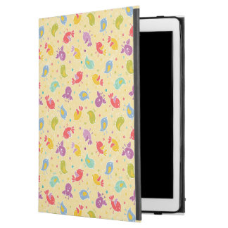"""Baby pattern with cute birds iPad pro 12.9"""" case"""