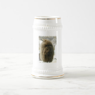 Baby Penguin Beer Stein 18 Oz Beer Stein