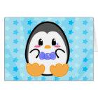 Baby Penguin - Boy Card