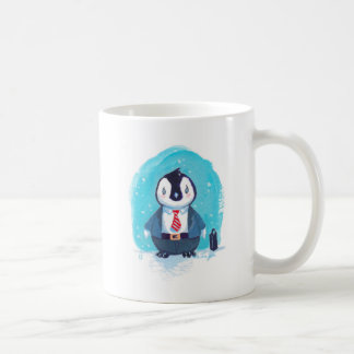 Baby Penguin Goes to Work Coffee Mug