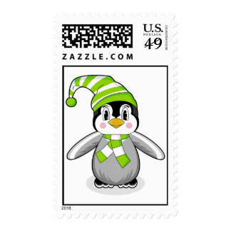 Baby Penguin Postage